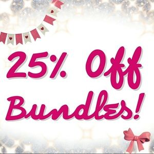 25% off two or more items!